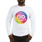Candy Smiley - Rainbow Long Sleeve T-Shirt