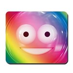 Candy Smiley - Rainbow Mousepad