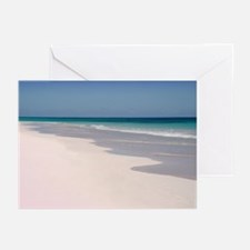 Pink Sands Beach Greeting Cards (Pk of 10)