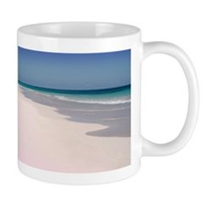 Pink Sands Beach Small Mug