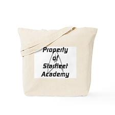Property Of Star Fleet Academy Tote Bag