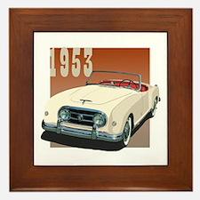 1953 In Cream Framed Tile