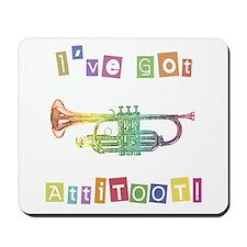 Trumpet Attitude Mousepad