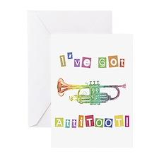 Trumpet Attitude Greeting Cards (Pk of 10)