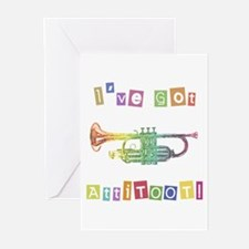 Trumpet Attitude Greeting Cards (Pk of 10)