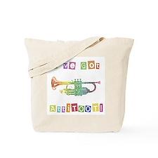 Trumpet Attitude Tote Bag