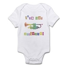 Trumpet Attitude Infant Bodysuit