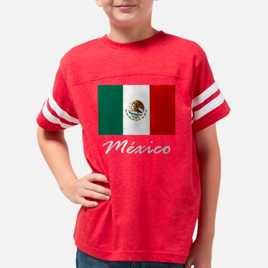 mexicot122606 Youth Football Shirt