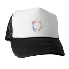 Though She Be But Little She is Fierce Trucker Hat