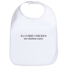 CURRY CHICKEN Bib