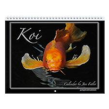 Koi 12 Month Wall Calendar