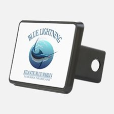 Blue Lightning Hitch Cover