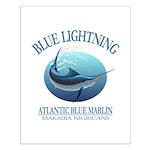 Blue Lightning Posters
