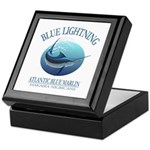 Blue Lightning Keepsake Box