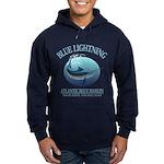 Blue Lightning Hoodie