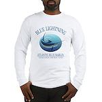 Blue Lightning Long Sleeve T-Shirt