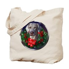 Weimaraner Christmas Tote Bag