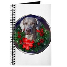 Weimaraner Christmas Journal
