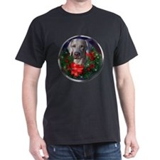 Weimaraner Christmas T-Shirt
