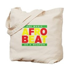 AFROBEAT _ USE MUSIC AS A WEAPON Tote Bag