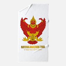 Thailand COA (Flag 10).png Beach Towel