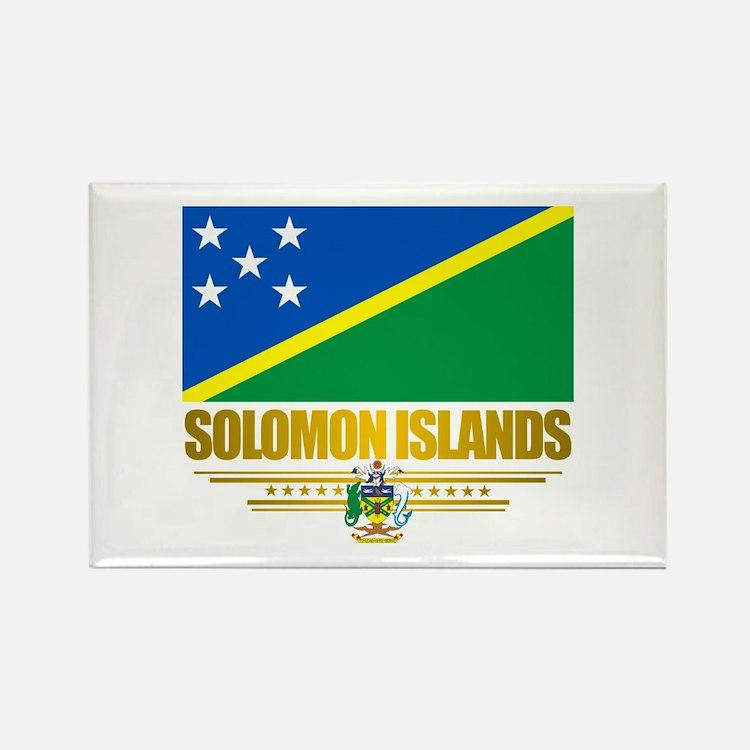 Solomon Islands (Flag 10)2.png Rectangle Magnet