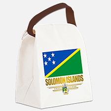 Solomon Islands (Flag 10)2.png Canvas Lunch Bag