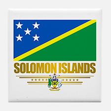 Solomon Islands (Flag 10)2.png Tile Coaster