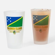 Solomon Islands (Flag 10)2.png Drinking Glass