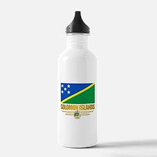 Solomon Islands (Flag 10)2.png Water Bottle