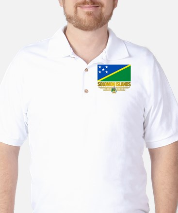 Solomon Islands (Flag 10)2.png Golf Shirt