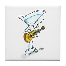 Guitar - Tile Coaster