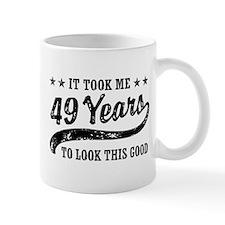 Funny 49th Birthday Small Mug