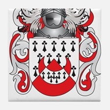 Chapman Coat of Arms Tile Coaster