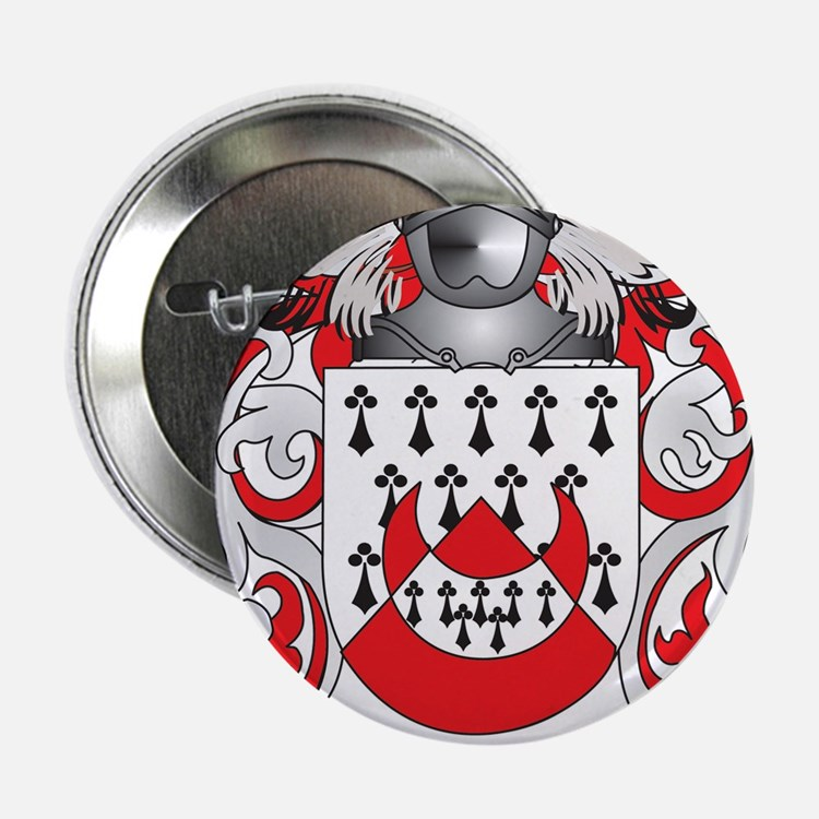 """Chapman Coat of Arms 2.25"""" Button"""