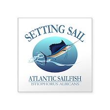 Setting Sail Sticker