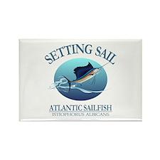 Setting Sail Rectangle Magnet