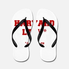 harvard-law-fresh-crimson Flip Flops