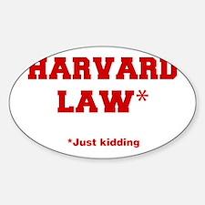 harvard-law-fresh-crimson Decal