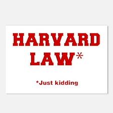 harvard-law-fresh-crimson Postcards (Package of 8)