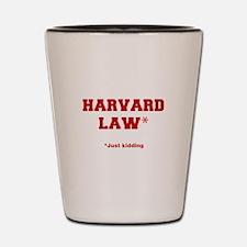 harvard-law-fresh-crimson Shot Glass