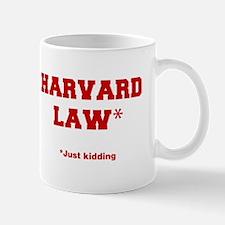 harvard-law-fresh-crimson Mug