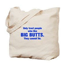 only-trust-people-akz-blue Tote Bag