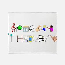 speech.png Throw Blanket