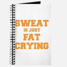 sweat-is-just-fat-crying-fresh-orange Journal