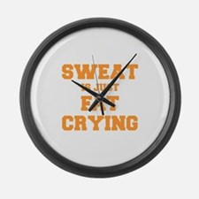 sweat-is-just-fat-crying-fresh-orange Large Wall C