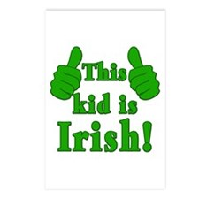 This Kid is Irish! Postcards (Package of 8)