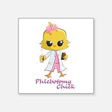 Phlebotomy Chick Sticker