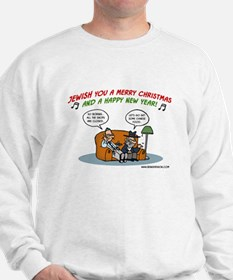 Jewish You A Merry Christmas Sweatshirt