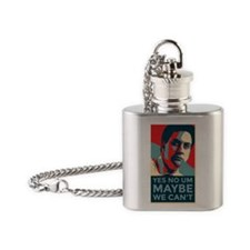 MAYBE WE CAN'T Flask Necklace